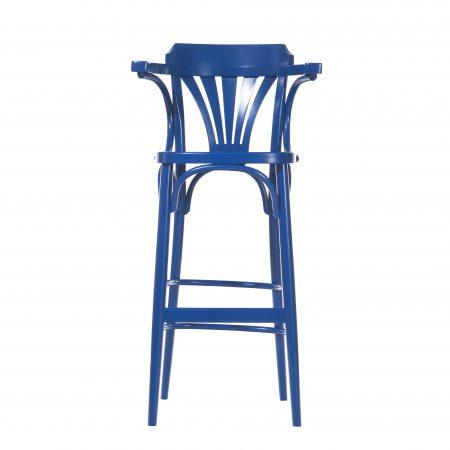Scaun de bar din lemn de fag 135 Blue