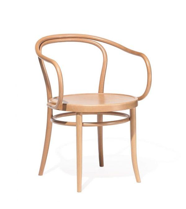 Scaun din lemn de fag 30 Natural