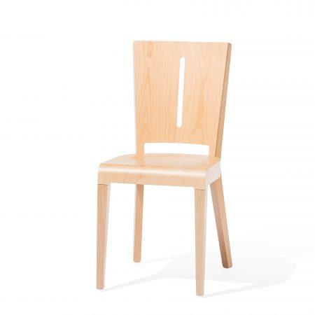 Scaun din lemn de fag Era 389 Natural