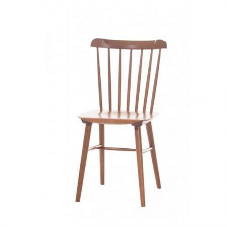 Scaun din lemn de fag Ironica Brown