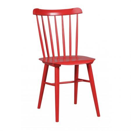 Scaun din lemn de fag Ironica Red