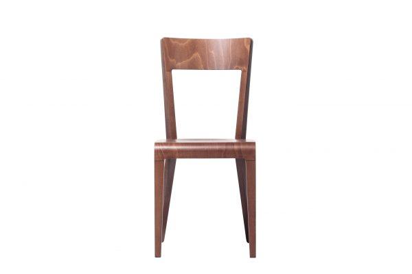 Scaun din lemn de stejar Era Brown