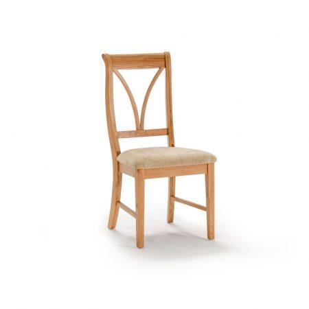 Scaun din lemn de stejar si furnir