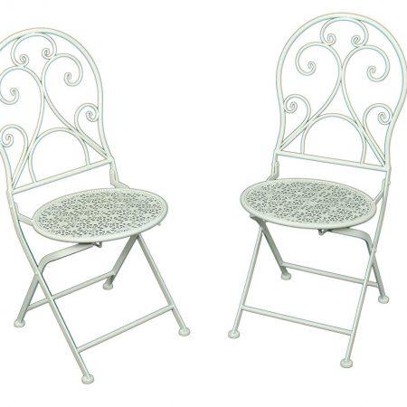 Set 2 scaune pentru exterior Lascar