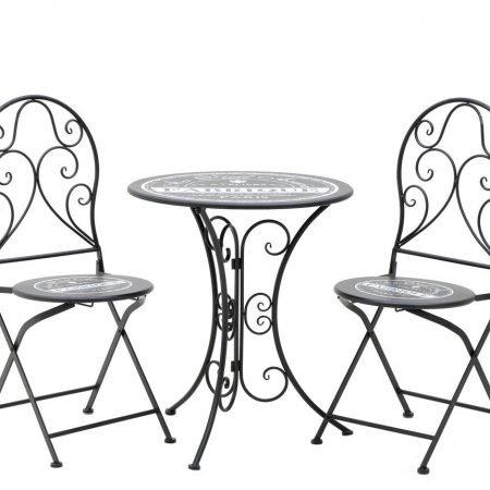 Set 2 scaune si 1 masa Norman