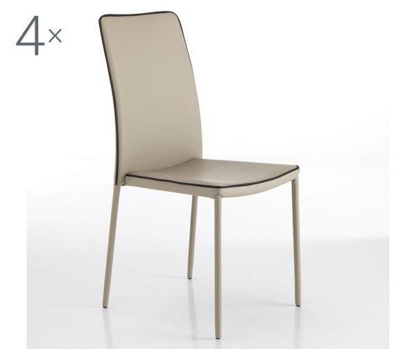 Set 4 scaune Kable Dove